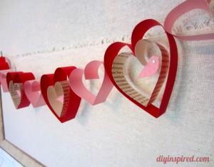 Innovative Idea DIY Valentines Day Garland Crafts