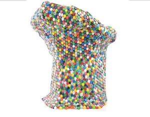 Bottles Top Caps Chair