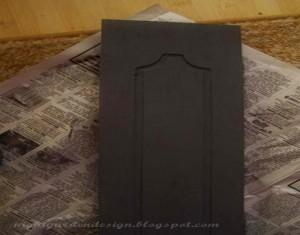 Cupboard Door Black