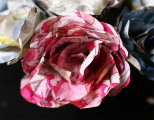 DIY Recycled Paper Beautiful Flower