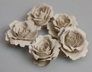 DIY Recycled Seeded Paper Beautiful Flowers
