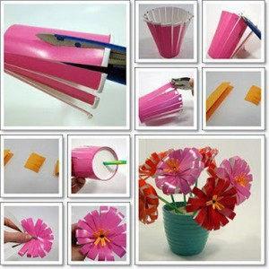 Disposible Glass Flower