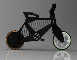Frii Bike made from Recycled Plastic