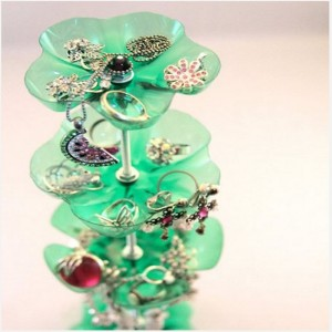 Plastic Bottles Jewelry Organizers