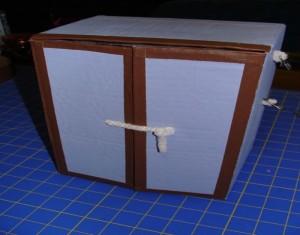 Recycled Beautiful Cardboard Box