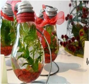 Recycled Bulbs Home Decor Ideas