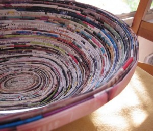 Recycled Paper Magazine Ideas