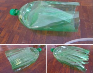 Recycled Plastic Bottles Broom