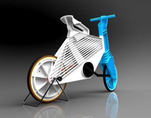 Recycled Plastic Frii Bike