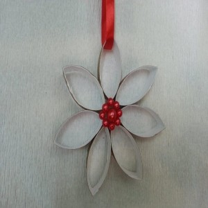 Recycled Toilet Roll Beautiful Flower