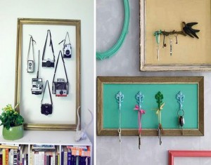 DIY Old Picture Frames Home Decor Idea
