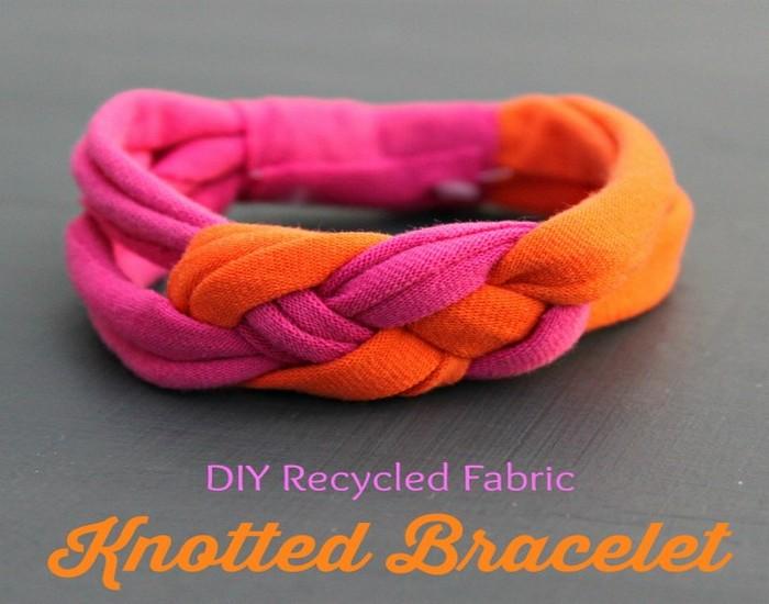 DIY Recycled Fabrics Beautiful Baraclete Ideas