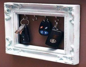 DIY Recycled Old Picture Frames Home Decor Idea
