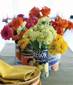 DIY Recycled Tin Cans Crafts