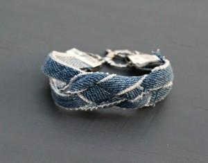 Denim DIY Bracelet