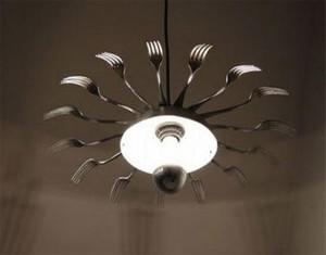 Metal Spoons Light