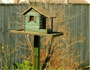 Old Wood Birdhouses
