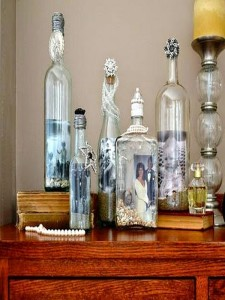 Recycled Bottles Decorating Ideas