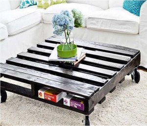 Recycled Wood Pallet Table Ideas