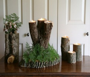 Recycled Wood Pieces Decor Idea