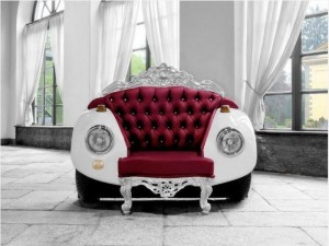 Innovative Idea Recycling Car Parts for Modern Furniture Designs