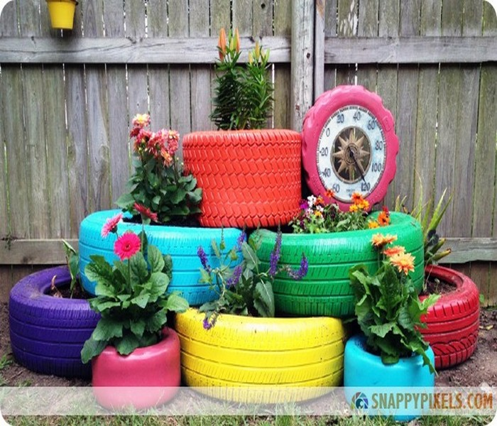 Repurposed Tires Ideas