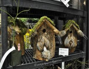 Repurposed Wood for Beautiful Birdhouses