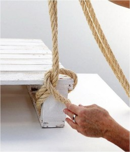 String and Pallet Bed
