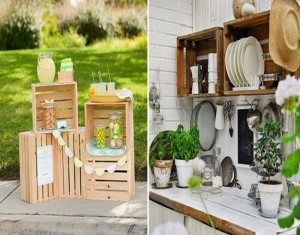 Recycled Old Wood Pallets Home Decor Idea