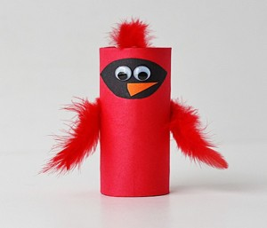 Recycled Paper Roll Kids Craft