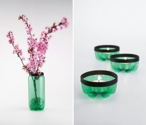 Recycled Plastic Bottles Home Decor Idea
