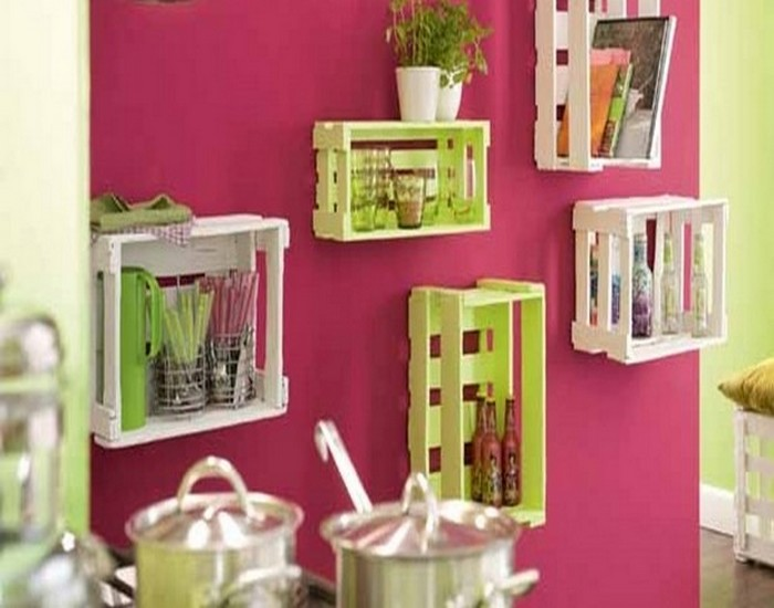 Recycled Wood Pallets Home Decor
