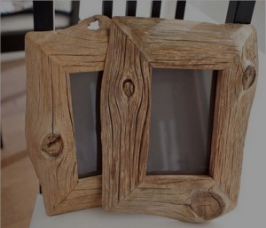 Recycled Wood Picture Frames