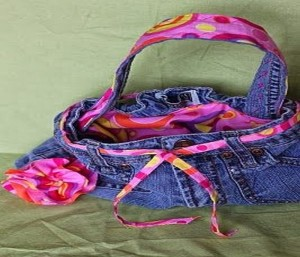 Repurposed & Reuse Old Jeans Crafts Ideas