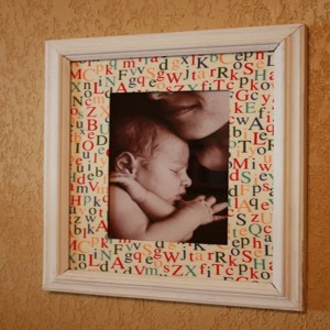 Upcycle Old Picture Frame
