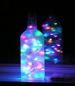 Wine Bottles Recycling Idea