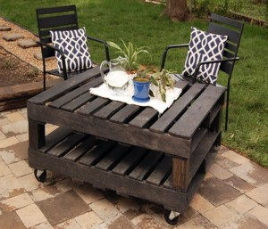 Reclaimed Wooden Pallet Coffee Table