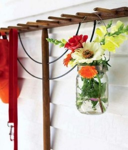 Recycled Glass Jar Home Decor Idea