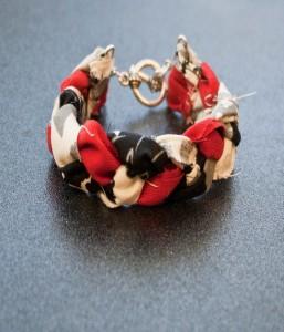 Upcycled Fabrics Bracelet