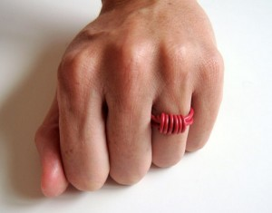 DIY Recycled Wire Jewelry