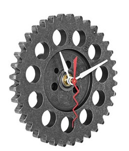 Recycled Auto Parts Clock