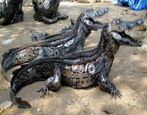 Recycled Automotive Parts Alligator