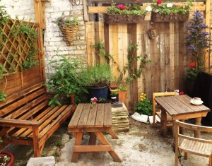Recycled Elegant Gardening Idea