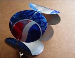 Recycled Tin Packs Bracelet