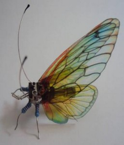 Repurposed Electronics Butterfly