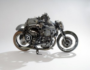 Reuse Cars & Bikes Parts Toy Bike