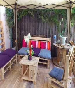 Reuse Wooden Furniture for Patio