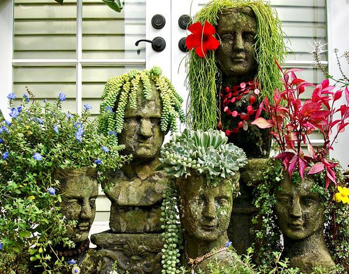 Upcycled Garden Planter Ideas
