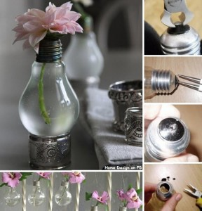 DIY Recycled Bulb Project