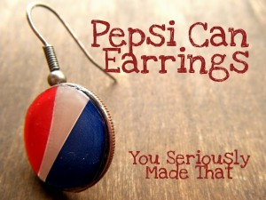 DIY Recycled Earring Jewelry
